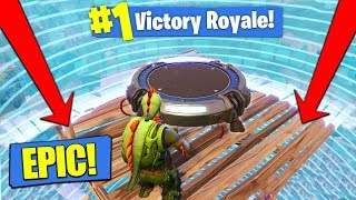 Download LAUNCH PAD In The SMALLEST CIRCLE In Fortnite Battle Royale! Video