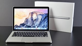 Download Apple MacBook Pro 13-inch with Retina Display (2015): Unboxing & Overview Video