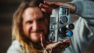 Download How to FAKE THE SUPER 8MM Film look with digital cameras! Video