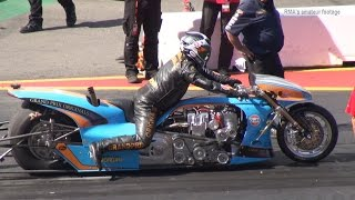 Download NitrOlympX 2016 - Top Fuel Bike Eliminations Video