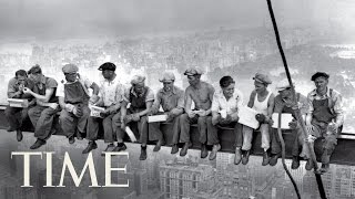 Download Lunch Atop A Skyscraper: The Story Behind The 1932 Photo | 100 Photos | TIME Video