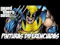 Download GTA V - Wolverine, Lanterna Verde Pinturas Diferenciadas Video
