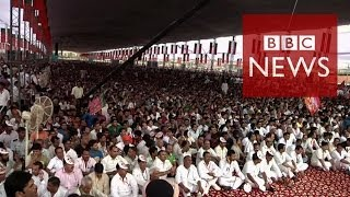 Download World's largest election explained in 60 seconds - BBC News Video