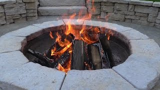 Download How to get fresh air into a firepit Video