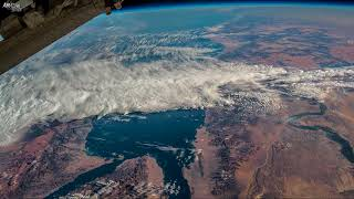 Download Earth from Space Time lapse: Egypt, The Red Sea, The Nile, Saudi Arabia Video