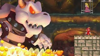 Download New Super Mario Bros. Wii - Final Castle vs Dry Bowser Video