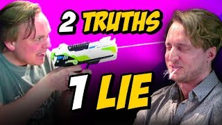 Download 2 TRUTHS, 1 LIE w/ GUS JOHNSON Video