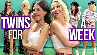 Download Best Friends Dress Like TWINS for a Week! (Beauty Break) Video