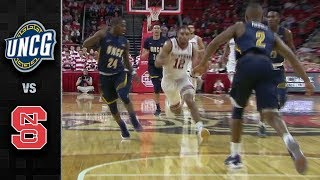 Download UNC Greensboro vs. NC State Basketball Highlights (2017-18) Video
