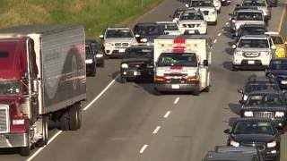 Download Vehicle Cuts-off Ambulance Going Code-3 Langley BC Canada 02/07/2016 Video