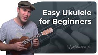 Download How To Play Ukulele - Beginner Lesson 1 - Easy Chords, Strumming And Songs [UK-001] Video