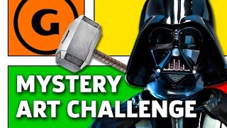 Download Mystery Art Challenge: Todd Nauck Draws Darth Vader Lifting Mjolnir Video