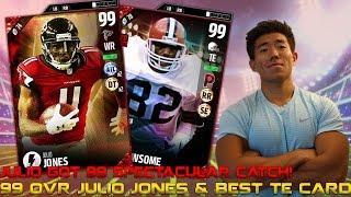 Download NEW 99 OVR JULIO JONES & BEST TE CARD OZZIE NEWSOME! MADDEN 17 ULTIMATE TEAM Video