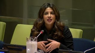 Download Priyanka Chopra (UNICEF Goodwill Ambassador) on eliminating violence against women & girls Video