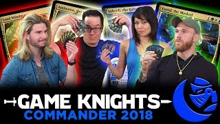 Download Commander 2018 w/ Kyle Hill and Cassius Marsh l Game Knights #20 l Magic the Gathering EDH Gameplay Video