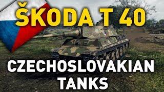 Download World of Tanks || Skoda T 40 - Tank Review Video