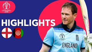 Download World Record For Sixes! | England vs Afghanistan - Match Highlights | ICC Cricket World Cup 2019 Video