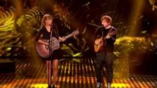 Download Taylor Swift & Ed Sheeran - Everything Has Changed live on BGT (HD) Video