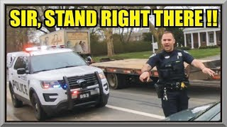 Download STAND RIGHT THERE - Nah I'm Good - Pulled Over Without A License - EHTPD - First Amendment Audit 46 Video