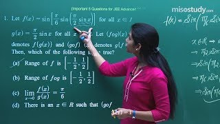 Download JEE Advanced 2018 Mathematics - Most Important Sample Questions Pattern | Misostudy Video