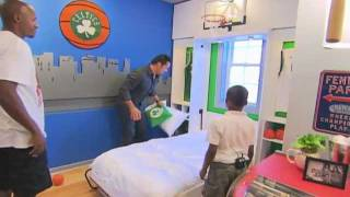 Download Extreme Makeover Home Edition - Charles Dunks On Ray Allen! Video