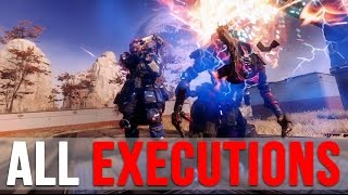 Download TITANFALL 2: ALL PILOT & TITAN EXECUTIONS Video