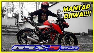 Download SUZUKI GSX-S 150 Modifikasi, Keren!!! - Motovlog #58 Video