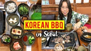 Download KOREAN BBQ in Seoul, South Korea Video