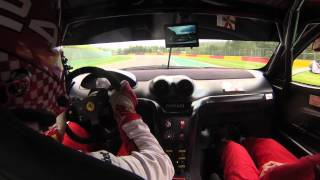 Download Ferrari 599 XX EVO in Spa Francorchamps on 2 September 2015 Video