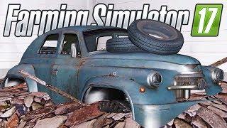 Download ACHEI UM CARRO DESTRUÍDO   Farming Simulator 17   Granja Guará - Episódio 6 Video