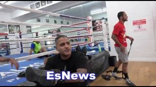 Download Trainer Ricky Funez Has Boxing Shoes To Gives Away EsNews Boxing Video