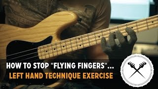 Download How to stop ″Flying Fingers″... Left hand technique exercise // with Scott's Bass Lessons Video