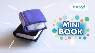 Download ✩ Miniature Book Prop ✩ Polymer Clay Tutorial Video