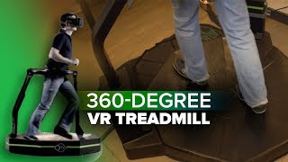 Download 360-degree VR treadmill is finally available Video