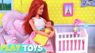Download Barbie Doll BabySitter for Baby Doll and Cute Little Doggy! 🎀 Video