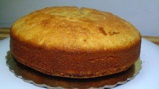 Download Sponge Cake without Oven    Basic Plain & Soft Sponge cake    w/ Eng. Subtitles Video