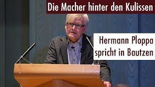 Download Die Macher hinter den Kulissen - Hermann Ploppa spricht in Bautzen (17.11.2017) Video