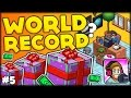 Download WORLD RECORD FOR THE MOST GIFTS IN THE GAME?? UNBOXING 4000 GIFTS!! (PewDiePie Tuber Simulator #5) Video