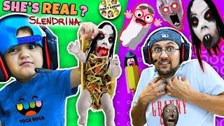 Download Escape SLENDRINA Taco + Granny Extra Dark & FGTEEV plays Toca Boca BOO! Halloween Game Video