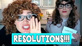 Download OUR NEW YEARS RESOLUTIONS // Grace Helbig Video