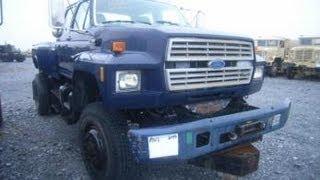 Download Ford F700 4x4 Crew Cab Utility Truck on GovLiquidation Video