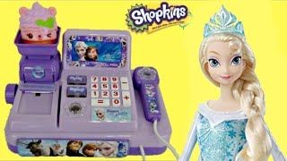 Download FROZEN Cash Register with Olaf, Princess Anna & Queen Elsa Toys Video