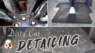 Download DIRTY CAR DETAILING | Complete Vehicle Transformation & Pet Hair Removal! Video