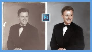 Download How to Repair and Colorize Old Photos (Photoshop CC Tutorial) Video