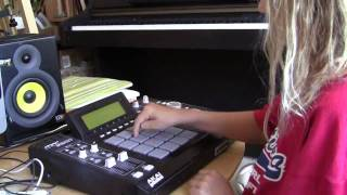 Download Diana (10 years old) shows her MPC skills Video