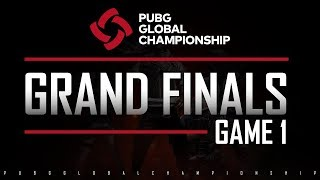 Download PUBG GLOBAL CHAMPIONSHIP - GRAND FINALS - GAME 1 Video