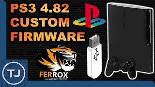 Download PS3 4.82 Custom Firmware! USB! (Ferrox Jailbreak) [NOR/NAND FAT & SLIM] 2017! Video
