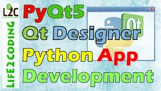 Download Create Python GUI Application using PyQt5 Designer with Python 3.6.3 Video