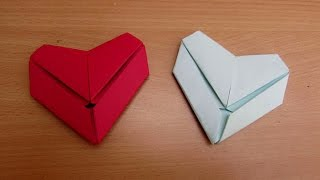 Download How to Make a Paper Letter Fold Heart - Easy Tutorials Video