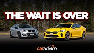 Download The King is Dead(?!) - Kia Stinger 330Si v Holden/Chevrolet Commodore SS-V Redline review Video